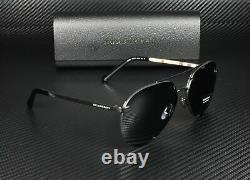 Burberry Be3099 100187 Lunettes De Soleil Pour Femmes Gris Noir 61 MM