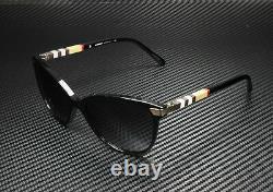 Burberry Be4216 30018g Black Gray Gradient 57 MM Lunettes De Soleil Femme