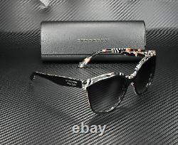 Burberry Be4270 37298g Top Black On Check Grey Gradient 55 MM Lunettes De Soleil Pour Femmes