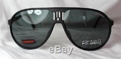 Carrera Original Sonnenbrille Ch Champion Dl5 / Y2 Neu Schwarz Polarisiert