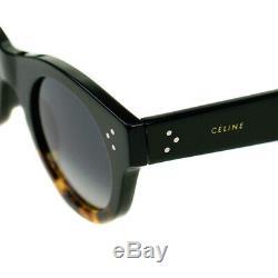 Celine Black & Écaille Mesdames Lunettes De Soleil Cl41425 / S Fu5