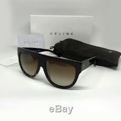 Celine CL 41026 / S Fu5 / 51 Lunettes De Soleil Shadow Ladies Black Tortoise Havana Femme