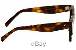 Celine CL 41089s 41089 / S Aea / Z3 Havana / Black Lunettes De Soleil Mode Pour Femmes 47mm