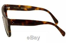 Celine Femmes CL 41026s 41026 / S Aea / Z3 Lunettes De Soleil Havane / Noir / Marron 58mm