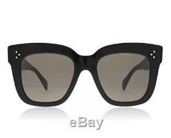 Celine Kim CL 41444 / S 06z Noir Gris Grandes Femmes Lunettes De Soleil Celebrity Authentic