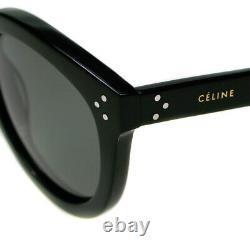 Celine Polarisants Preppy Noir Lunettes De Soleil Mesdames Cl41801 / S 807