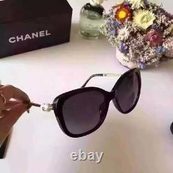 Chanel Ch 5339 Pearl Black/gold Polarized Women Sunglasses Frames 2018 Été