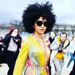Christian Dior 30montaigne Ezp Red Havana Gold Grey Lens Lunettes De Soleil Femme