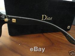 Christian Dior Glossy Gold Seulement 500 Lunettes De Soleil En Édition Limitée, Nouveau, Rare Unique
