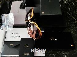 Christian Dior Lunettes Brillant Or Massif 18 Kt Lim. Edition 500, Plus Rare Nouveau