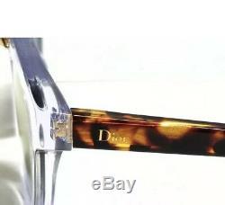 Christian Dior Mania 1 Lwp / Jo Lunettes De Soleil Cristal Havana Gris Or Miroir