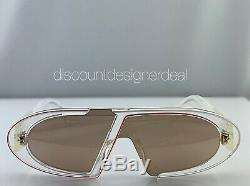 Christian Dior Oblique Lunettes De Soleil 900sq Clair Lenses Pink Mirror Brand New