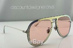 Christian Dior Ultime1 Lunettes De Soleil Aviator Xwljw Gold Frame Rose Clair Lentille 57mm