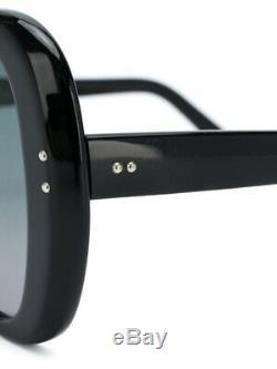 Cutler & Croix Authentiques Black Tie Papillon 52 MM Lunettes De Soleil. Fabriqué En Italie
