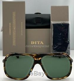 Dita Endurance 79 Lunettes De Soleil Blackwood Fer Noir G-15 Vert Objectif Dts104-60-02