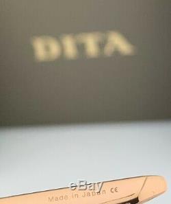 Dita Metamat Lunettes De Soleil Dts526-59-02 Cadre Or Rose Gris Peach Dégradé Objectif