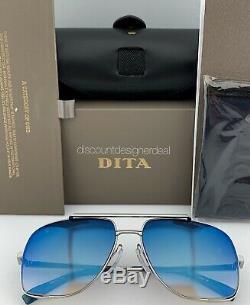 Dita Special Lunettes De Soleil Palladium Midnight Bleu Miroité Drx-2010-k-pld-60