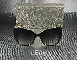 Dolce & Gabbana Dg4348 32158g Noir Damas Noir Gris 54 MM Lunettes De Soleil Femme