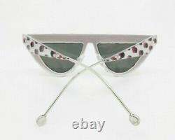 Fendi Triangulaire, Mirror Lens, Femmes Lunettes De Soleil, New Withcase Ff 0371 / S 53mm