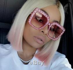 Gucci Gg0148s 003 Pink Blink Lunettes De Soleil Final Sale