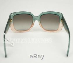 Gucci Lunettes De Soleil Gg 3837 / F / S Rmqsm Ombre Glitter Optyl Carré G