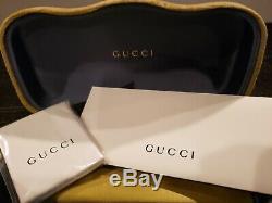 Gucci Rouge Vert Cadre Carré Gris Femme Lunettes De Soleil Gg0083s 001