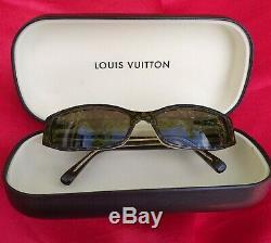 Louis Vuitton Lunettes De Soleil Sonnenbrille Brille Mit Etui Sehr Hoher Neupreis