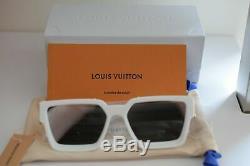 Louis Vuitton X Virgil Abloh Blanc Millionnaires 1.1 Lunettes De Soleil Suprême Limité
