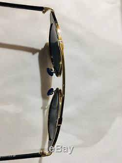 Lunettes De Soleil Authentiques Neuves De Christian Dior So Real, Monture Dorée, Verres Gris / Argent