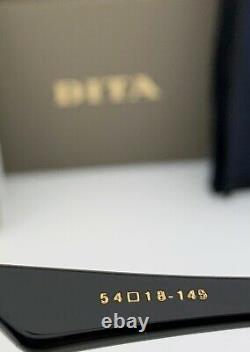 Lunettes De Soleil Cateye Dita Rédempteur Dts530-54-01 Cadre Noir Lens Gradient Gris Nouveau
