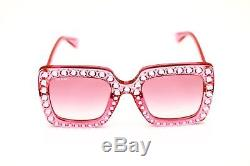 Lunettes De Soleil Gucci Gg0148s 003 Pink Blink
