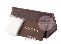 Lunettes De Soleil Gucci Gg 4283 / S Pour Femme, Or Blanc, Œil De Chat, Mère De Perle Marron U29jd