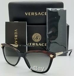 Lunettes De Soleil New Versace Ve4313 518011 57 Tortoise Gold Medusa 4350 Cateye Genuine