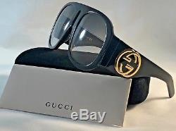 Lunettes De Soleil Oversize Gucci Gg 0152 S 002 Noires