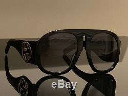 Lunettes De Soleil Pour Femmes Gucci Gg0152s Black Frame / Gradient Green Lens 100% Authentique