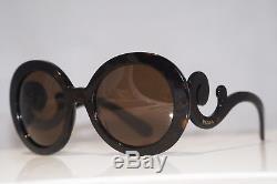 Lunettes De Soleil Prada Womens Designer Brown Baroque Swirl Spr 27n 2au-6s1 15265