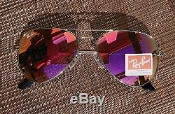 Lunettes De Soleil Ray-ban Aviator Unisexe Mirror USA