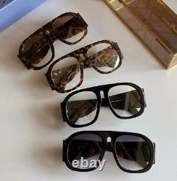 Lunettes De Soleil Surdimensionnées Gucci Gg0152s Clear Black Acetate Frame