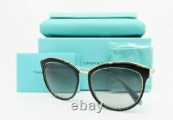 Lunettes De Soleil Tiffany & Co. Black & Rose Gold Pour Femmes Avec Box Tf 4146 8055/3c 56mm