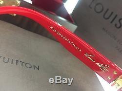 Lunettes De Soleil Très Rares Louis Vuitton Millionnaire Red Première Édition