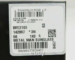 Lunettes De Soleil Versace Unisex Aviator Noir/or Avec Box Mod 2193 1428/87 56mm