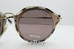 Miu Miu Lunettes De Soleil Pour Femme Avec Écrin 51s Va8-6x1 49mm