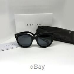 New Celine Audrey CL 41755 / S (807 / 3h) Polarisants Noir Gris Lunettes De Soleil Femmes