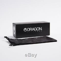 New Dragon Jam Remix Matt Black / Silver Ionisées Lunettes De Soleil (720-2341) Prix Public 199,95 $