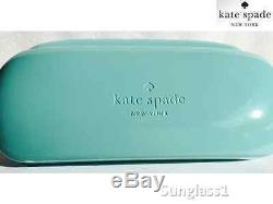 New Kate Spade Bethann Lunettes De Soleil Lunettes De Soleil Lunettes De Soleil Aviator Rose Gold 57mm