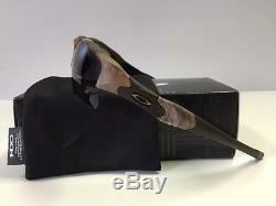 New Oakley Flak Jacket Xlj Lunettes De Soleil King Woodland Camo / Gris Livraison Gratuite Hunt