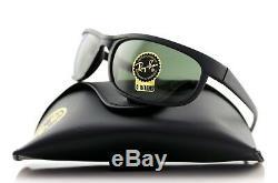 New Ray-ban Lunettes De Soleil Predator 2 Matte Black G-15 Lentille En Verre Wrap Rb 2027 W3327