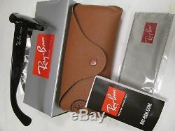 New -ray-ban Lunettes De Soleil Jackie Ohh Rb4101 601/58 Noir / Vert Lentille 58mm