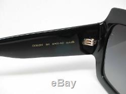 Nouveau Authentique Gucci Gg0053s 001 Noir Avec Gris Dégradé Gg 0053s Lunettes De Soleil