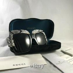 Nouveau Authentique Gucci Gg0484s 001 Havane Cadre, Brown Lens Taille 54mm